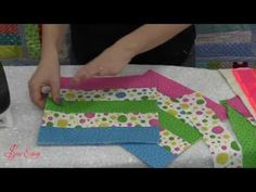 """***** Monica Poole demonstrates how to use the new """"SewEasy"""" Double Sided Fusible Cotton Batting. Perfect for fusing both your top and backing fabric for your next quilting project.  Monica shows you the beautiful quilt she made using this batting...Stitch as you go quilt."""