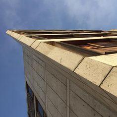 #sundaybldgfeature Salk Institute by Louis Kahn #beige (at Salk Institute La Jolla Calif)