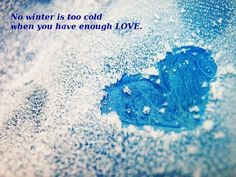 quotes winter love