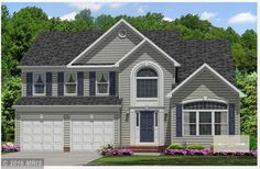 Under Construction. Beautiful new home in new Community!  4 bedroom 3.5 bath. Grand Kitchen. 2 car sideload garage. Full finished basement w/ Rec Room, Study. Master Deluxe Bath w/ separate shower and soaking tub.