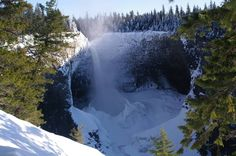 Helmcken Falls in Wells Gray Provincial Park, BC Canada - Mike Marcuzzi I Love Winter, Western Canada, Best B, Winter Theme, British Columbia, The Great Outdoors, Places To See, How To Find Out, Beautiful Places
