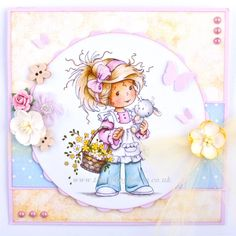 Wee Stamps - Wee Bunnies The Hobby House Die-Cut Card Toppers Easter @ The Hobby House Pretty Cards, Cute Cards, Magnolia, Whimsy Stamps, Hobby House, Beautiful Handmade Cards, Copics, Digital Stamps, Kids Cards