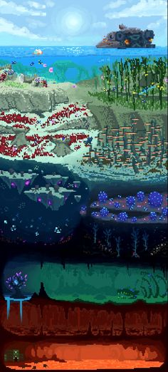 Subnautica Lost River Map : subnautica, river, Subnautica, Ideas, Concept, Creatures,