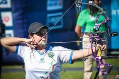 Eleonora Sarti - Italy - Archery - Donaueschingen 2015