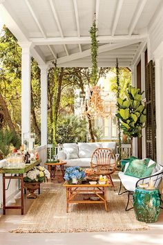 House In The Woods Decor Front Porches Ideas For 2019 Outdoor Rooms, Outdoor Living, Outdoor Decor, Outdoor Kitchens, Outdoor Patios, Outdoor Areas, Living Room Designs, Living Spaces, Living Rooms