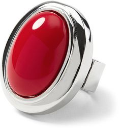vibrant red ring
