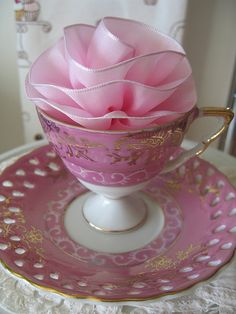 Vintage Tea Cup and Saucer!