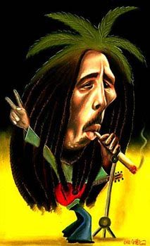 Bob Marley #Caricature #FunnyFaces