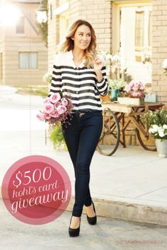 it's GIVEAWAY time: click and enter to win a $500 shopping spree!