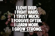 Have a good day and remember everybody is strong