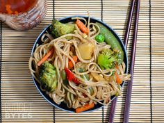 Stir Fry Noodles with Homemade Teriyaki Sauce Ingredients Teriyaki Sauce ¼ cup soy sauce $0.39 2 Tbsp rice vinegar $0.23 2 Tbsp brown sugar $0.03 ¼ tsp toasted sesame oil $0.05 2 cloves garlic, minced $0.16 2 inches fresh ginger, grated $0.21 pinch red pepper flakes $0.02 (optional) 1 Tbsp cornstarch $0.04 2 Tbsp water $0.00 Noodles & Vegetables 1 lb. frozen stir fry vegetables $1.57 8 oz. buckwheat soba noodles $3.69 1 Tbsp vegetable oil $0.02