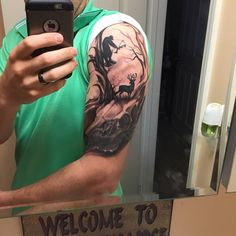 awesome Top 100 hunting tattoos - http://4develop.com.ua/top-100-hunting-tattoos/ Check more at http://4develop.com.ua/top-100-hunting-tattoos/
