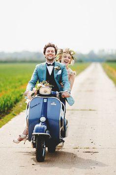 blue suit jacket wedding scooter brides of adelaide magazine