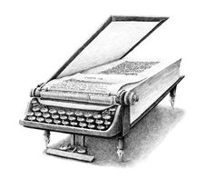 Typewriter Book. Drawing the Fantastic and Surreal World of Hoekstra. See more art and information about Redmer Hoekstra, Press the Image.