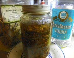 How to make tinctures and herbal extracts.