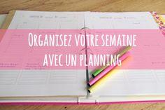 Planning à imprimer pour organiser sa semaine