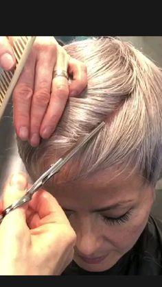 Short Hair Undercut, Undercut Hairstyles, Pixie Hairstyles, Pixie Haircut, Cool Hairstyles, Straight Hairstyles, Short Thin Hair, Short Hair Cuts, Haircuts For Fine Hair