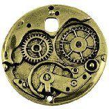 ASVP Shop Steampunk Cyberpunk Uhrenteile zum ® Teile-GETRIEBE ZAHNRÄDER rollen zum Herstellen von Schmuck, Basteln Arts, Gold/Silver, Copper 100g: Amazon.de: Küche & Haushalt