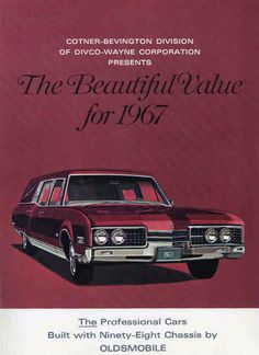 1967 Oldsmobile Hearses.