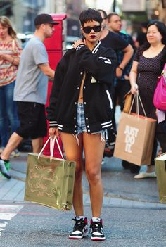Rihanna is flawless in her riririverisland collection love her
