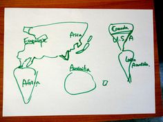 hand drawn maps of the world - Google Search