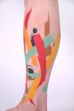 Amanda Wachob Tattoo #illustrazione #tattoo #amandawachob