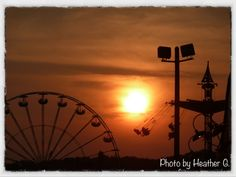Sunset at The Hebron Harvest Fair - Hebron, CT (By Heather G.)
