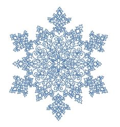 Snowflake 1. Snowflake 1 embroidery design. Stitches: 9304abc-machine-embroidery-designs.com