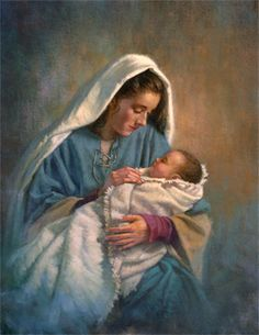 Madonna and her child Jesus. Blessed Mother Mary, Blessed Virgin Mary, Pictures Of Christ, Baby Jesus Pictures, Creation Photo, Mama Mary, Sainte Marie, Jesus Art, Mary And Jesus