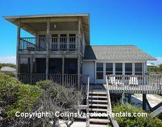 Angel's Paradise ~ East End ~ Beach Front ~ St. George Island Florida - Collins Vacation Rentals