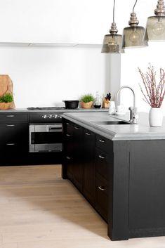 Fantastisch Matte Küche, Matte Fronten, Matt, Insel, Kochinsel, Kücheninsel, Schwarz,