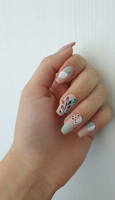 Wedding Acrylic Nails, Best Acrylic Nails, Gel Nails, Nail Polish, Nail Photos, Manicure E Pedicure, Easy Nail Art, Nail Stamping, Nail Trends