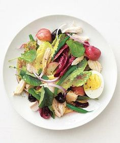 Chicken Niçoise Salad recipe from realsimple.com #myplate #protein #vegetables