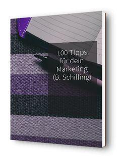 """Lade jetzt dein kostenloses E-Book """"100 Tipps für dein Marketing"""" http://marketing-muse.de/quicktipps/"""