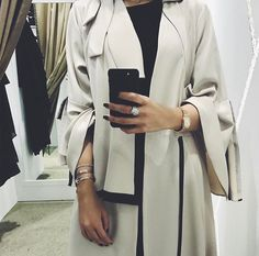 IG: Maryametch || IG: BeautiifulinBlack || Abaya Fashion ||