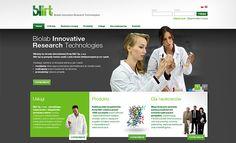 Blirt: Corporate website - Jamel Interactive interactive agency Gdansk, Tricity