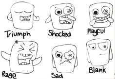 The Frizz: Monster Expressions!