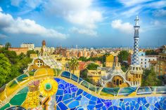 Parc Güell, BARCELONA.  My favourite place to get lost...