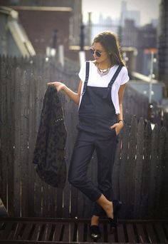 Nothing found for 01 09 Asos Overalls Zara Jacket In Stores Necklace In Stores Rachel Roy Loafers Image Weworewhat Fashion Mode, Look Fashion, Winter Fashion, Fashion Trends, Street Fashion, Fashion 101, Vogue Fashion, Fashion Spring, Looks Street Style