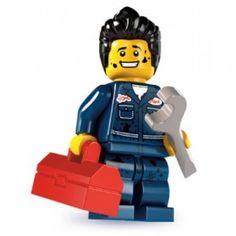 LEGO Mechanic - Series 6