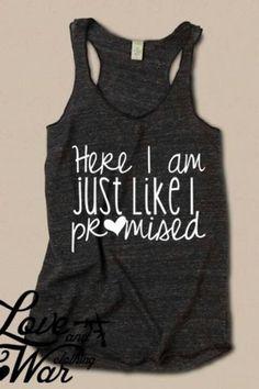 awww a coming home shirt...