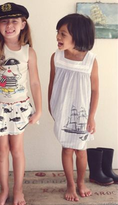 One Good Thread - Misha Lulu - Sea Dress - Whale