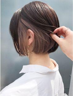 Hidden Hair Color, Two Color Hair, Hair Color Streaks, Hair Dye Colors, Hair Highlights, Under Hair Dye, Color Block Hair, Hair Color Underneath, Asian Short Hair