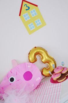 urodziny w stylu świnki Peppy