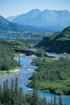 White Pass & Yukon Route Railroad. Skagway, Alaska