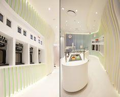 Yo Story frozen yoghurt store by ORO design, Sydney – Australia » Retail Design Blog