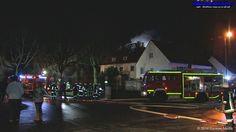 Blaulichtticker: Pfaffenhausen: Dachstuhlbrand in Mehrfamilienhaus