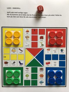 Språklig bevissthet – Språkhjerte Card Games, Education, Cards, Games, First Grade, Teaching, Map, Training, Educational Illustrations