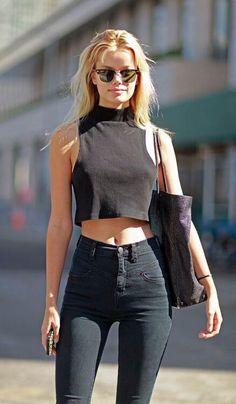 high waisted jeans 7