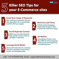 5 Killer SEO Tips for E-commerce sites. Google Page, Website Design Services, Seo Tips, Ecommerce, Mondays, Search, Research, E Commerce, Searching